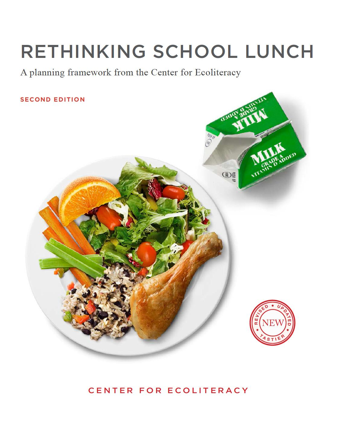 Rethinking School Lunch Guide cover