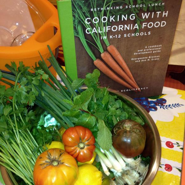 Cooking with California Food in K-12 Schools