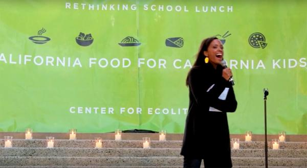 Aisha Tyler Gets Real about School Food