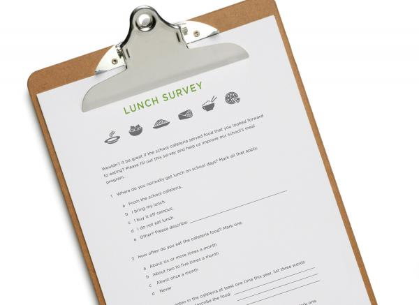 School Lunch Survey
