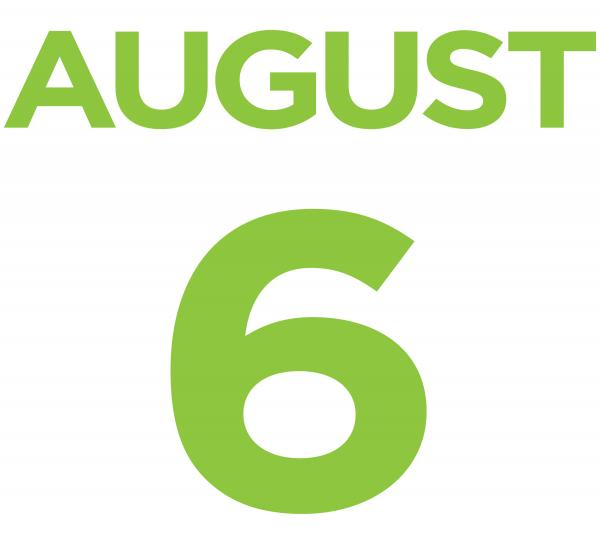 August 6