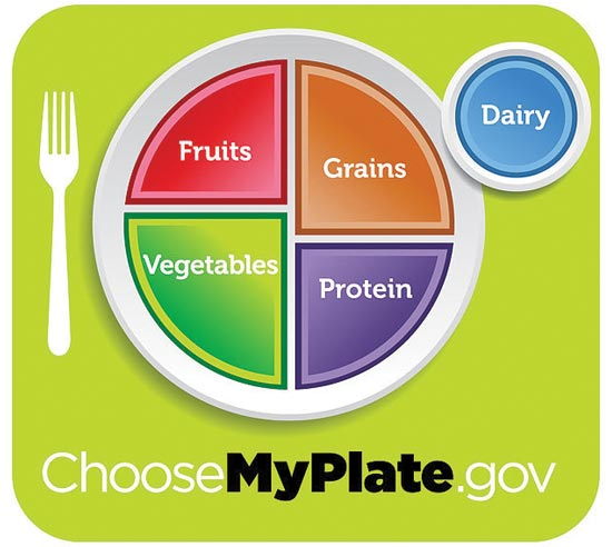 karen brown - USDA MyPlate Graphic Supports Rethinking School Lunch Suggested Portions
